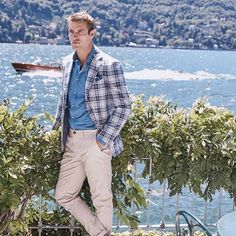"""6d6f8a800 M.J. Bale on Instagram: """"Speed past cruise control with our  outrageously-checked Fortunato jacket. Pare it back with the feather  McQueen chino, ..."""