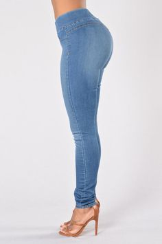 Curves Jegging - Venice Blue