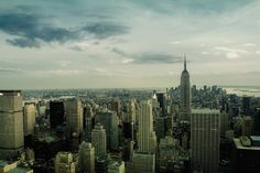 View from Top of the Rock, NYC