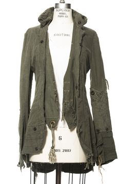 Jacket by Greg Lauren (one of my favourite designers)    www.greglauren.com