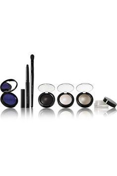 Instructions for use: See packaging for full instructions UltraViolet Blue Pigment: 4g/ 0.14oz.; Dark Matter Pigment: 4g/ 0.14oz.; Mercury Pigment: 4g/ 0.14oz.; Astral White Pigment: 4g/ 0.14oz.; Cyber Clear Eye Gloss 4g/ 0.14oz.; Black SmudgeLiner Eye Kohl: 1.5g/ 0.05oz.