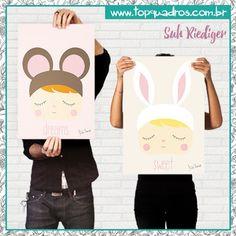 Poster Infantil da coleção assinada pela blogueira Suh Riediger do Blog…