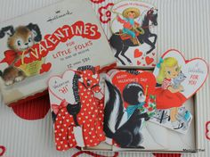 Darling box came with original cards.
