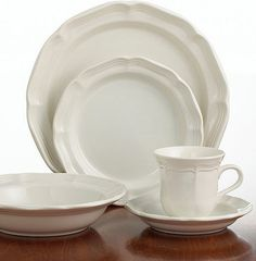 French Country Details: you're gonna need some white dishes Mikasa Dinnerware, French Countryside Collection