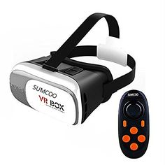 FEIYANG 3d VR Glasses box 20 Version VR Virtual Reality Glasses 3D for 35  60 Smart Phone 3d Movies and Games With Controller For IOS Android Mobile Phone ** Click on the image for additional details.Note:It is affiliate link to Amazon. #like4like