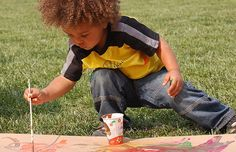 painting art for babies and toddlers