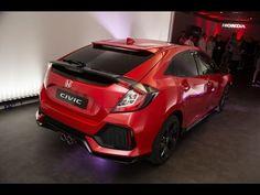 2017 Honda Civic Hatchback Revealed At Paris Motor Show