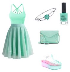 """""""Untitled #4"""" by punkie707 ❤ liked on Polyvore featuring LE3NO, Chicwish, Disney, Apt. 9 and New Look"""