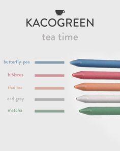 Japanese Pen, Butterfly Pea, Thai Tea, Calligraphy Pens, Ink Color, Colour, Pen Sets, Gel Pens, Color