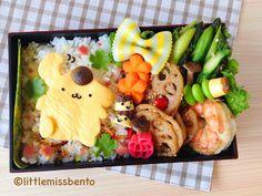 Little Miss Bento  シャリーのかわいいキャラベン: Pom Pom Purin Bento ポムポムプリンのキャラベン