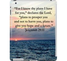 iPad Case/Skin http://www.redbubble.com/people/jlporiginals/collections/432513-book-of-jeremiah  #Jeremiah2911 #Jeremian29  #ForIknowtheplansIhaveforyou #Jeremiah29verse