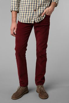 Standard Cloth 5-Pocket Skinny Corduroy Pant