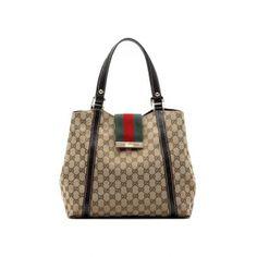 """Gucci bags and Gucci handbags 211936 FTATG 9791 """"ladies web"""" medium tote with engraved gucci scrip 230 Gucci Bags On Sale, Gucci Bags Outlet, Cheap Gucci Bags, Gucci Gucci, Gucci Men, Gucci Tote Bag, Gucci Purses, Gucci Handbags, Shopping"""
