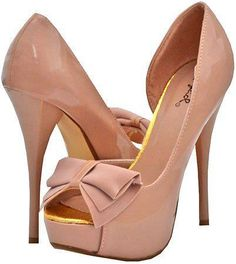 I love the color so me and the bow so wow!!Wish I had those shoes!!!!!!!