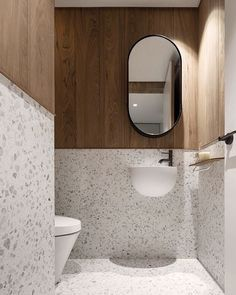 2020 interior home trends - Terrazzo. Bathroom Red, Bathroom Toilets, Modern Bathroom, Small Bathroom, Bathrooms, Ikea Bathroom, Interior Ikea, Bathroom Interior Design, Washroom Design