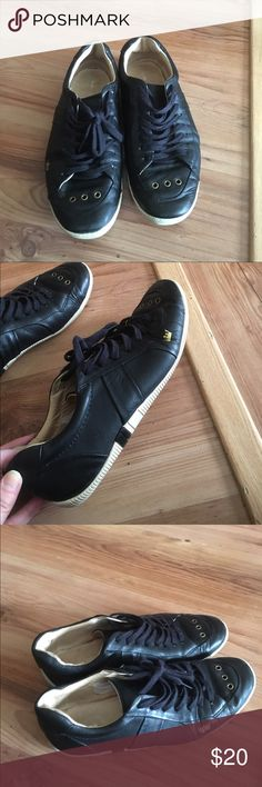 Osklen Shoes Leather. Black. Made in Brazil Osklen Shoes Sneakers
