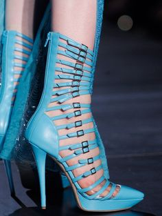 glad there is a zipper!  Atelier Versace f/w 2012