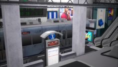 the entrance to the subway continued🚆 part 1 dynasty need 1.advanced download everything in this post 2. S.T.A.L.K.E.R. @mimoto-sims 3.S.T.A.L.K.E.R. Set for TS4 @thesimsm0dels 4.train and scoreboard...