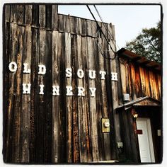 Next time you're in #Natchez, you'll want to make a pit stop at Old South Winery and pick up a bottle of muscadine wine OR take a free tour with tastings!