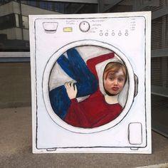 Face In Hole, Washing Machine, Men's Fashion, Art, Moda Masculina, Art Background, Mens Fashion, Man Fashion, Kunst