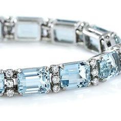 Art Deco Bracelet Silver Rhodium Filigree Emerald Green Glass Antique Jewelry