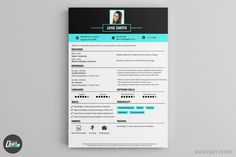 These Resume Templates will surely help you find a job! The Best Resume Builder with creative Resume Samples. Creative Cv Template, Cv Maker, Resume Maker, Professional Cv Examples, Resume Examples, Online Cv, Resume Builder, Creative Jobs, Best Resume