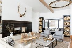 Located in Park City, Utah, this modern mountain residence was designed in 2016 by Studio McGee.              Description by Studio McGee This brand new home is on 160 acres in an exclusive area calle