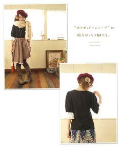 Ladies/mori girl/cute/Japanese Fashion