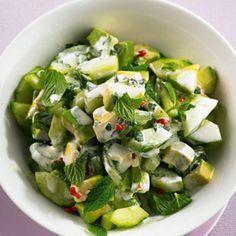 Avocado-Gurken-Salat