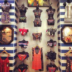 Bikini wall @ Hunni's