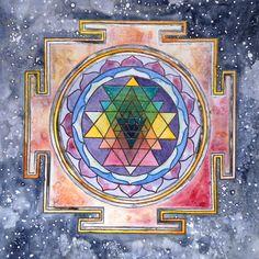 Sri Yantra by mysticnova7 on DeviantArt