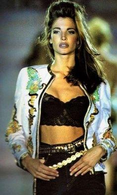 Stephanie  Seymour - Gianni Versace Runway Show 1992