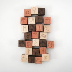 8 of the coolest sets of modern alphabet blocks for babies and kids.