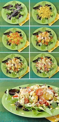 Chopped Salmon Salad