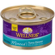 Wellness Minced Cuts Adult Canned Cat Food