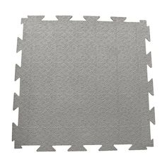 Rubber-Cal Terra-Flex Interlocking Rubber Flooring Dark Gray - 03-188-WEB10-DG
