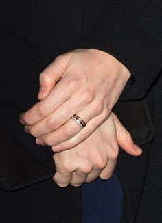 What's Up With Kate Middleton's THIRD Ring on That Finger? There's her wedding band, made of Welsh gold, and the sapphire engagement ring Princess Diana wore but also another band positioned atop both.