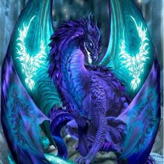 Ice Dragon Cross Stitch Pattern Uses 116 colors Please note that this is for a digital pattern only not the completed item, floss or cloth. You will receive one Mythical Creatures Art, Mythological Creatures, Magical Creatures, Fantasy Kunst, Fantasy Art, Anime Fantasy, Dragon Medieval, Dragon Cross Stitch, Ice Dragon