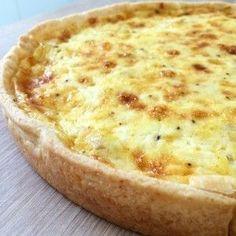 Tarta de cebolla y queso | Inutilisimas