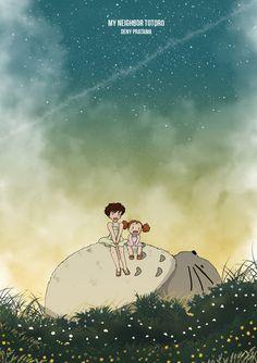 My Neighbor Totoro by HanamuraYosuke0