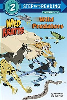 Wild Predators (Wild Kratts) (Step into Reading)   PBS's animated hit show Wild Kratts follows the adventures of zoologists Chris and Martin Kratt as they travel to animal habitats around Read  more http://shopkids.ca/book/wild-predators-wild-kratts-step-into-reading