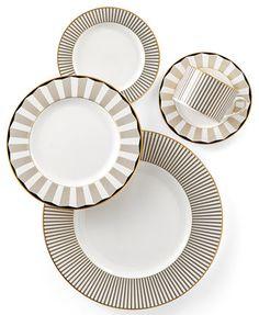Brian Gluckstein by Lenox Audrey Dinnerware Collection  | macys.com