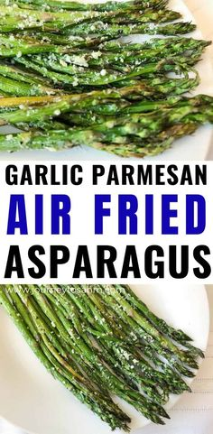 A healthy, yet simple garlic parmesan cheese air fryer asparagus recipe great for BBQs, for steak, . Air Fryer Oven Recipes, Air Frier Recipes, Air Fryer Dinner Recipes, Air Fryer Recipes Vegetarian, Asparagus Recipes Oven, Asparagus Fries, Parmesan Recipes, Easy Vegetable Side Dishes, Vegetable Sides