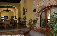 Lobby of of Hotel Conde de Villanueva