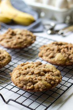 Banana Crumb Cake Muffin Tops - The Beach House Kitchen