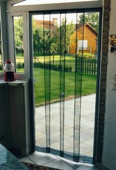 Magic Mesh Screen Door Hack YouTube Mesh screen door