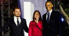 Leonardo DiCaprio Talks Climate Change With President Barack Obama at SXSL | Barack Obama, Leonardo DiCaprio : Just Jared