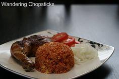 Wandering Chopsticks: Vietnamese Food, Recipes, and More: Com Do Ca Chua (Vietnamese Tomato Paste Red Rice)