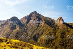 Brazilian highlands Mantiqueira range Pico dos Marins in Brazil foto royalty-free