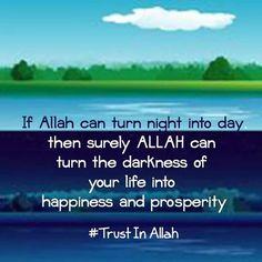 .Trust in Allah